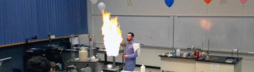 photo of a stem demonstration