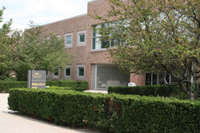 photo of math and microbiological science building entrance