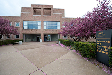 photo of the math and microbiological sciences building