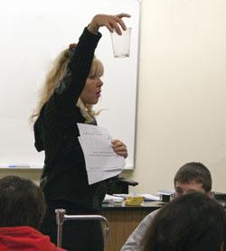 Dr. Lunsford STEM Class