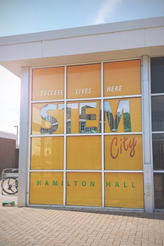 stem City Wall Cling