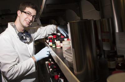 Chemistry Top Scholar James Herbort