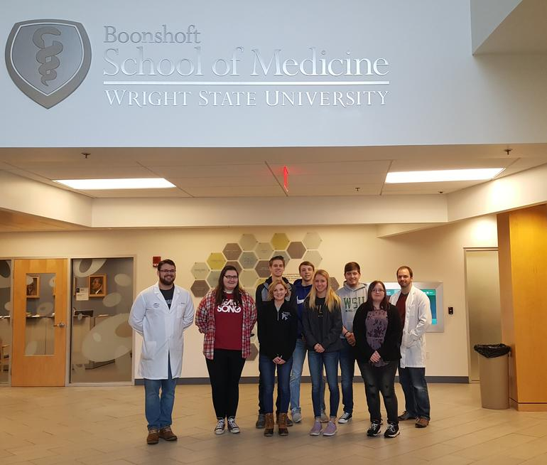 Human Anatomy And Physiology Interactive Lab High School Visits 2017