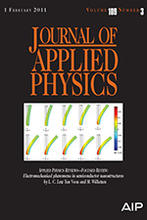 photo of the journal of applied physics cover