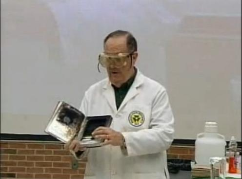 Dr. Fortman Book Burning Experiment 1