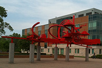 photo of turning points sculpture